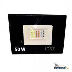 Refletor LED SMD RGB 50w ip67